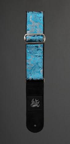 Jaykco Silver/White Dragon on Turquoise