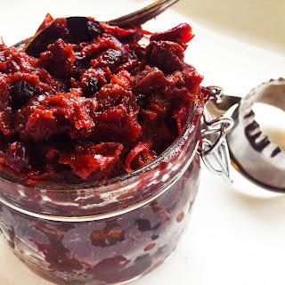Paleo Cranberry Mincemeat