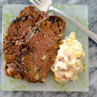 Vegetable and Cheddar Meatloaf