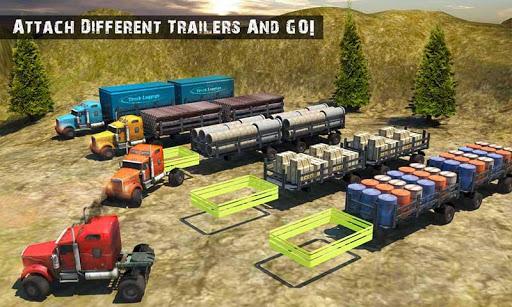USA Truck Driving School: Off-road Transport Games 1.10 screenshots 4