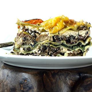Show-Stopping Lentil and Eggplant Lasagna [Vegan].