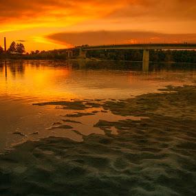 River by Krešimir Šarčević - Landscapes Sunsets & Sunrises