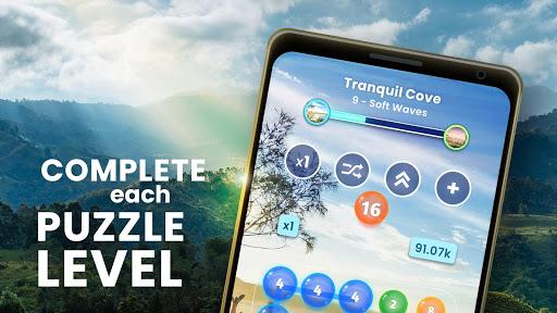 Code Triche Zen Connect: Match Colours, Numbers And Bubbles APK MOD screenshots 2