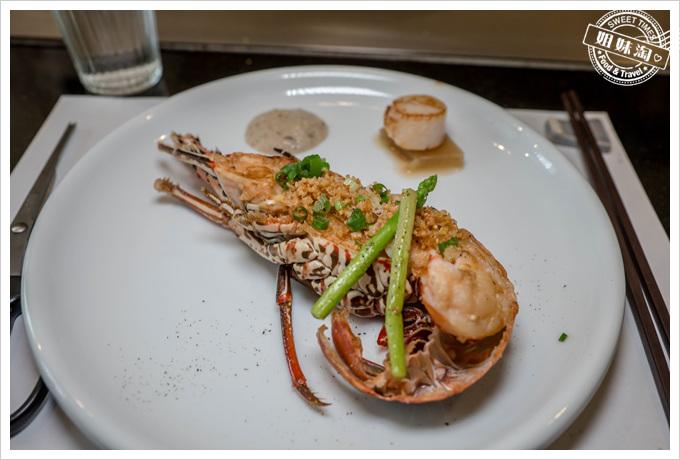 母堂鐵板燒龍蝦海陸套餐