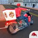 Big Pizza Delivery Boy Simulator icon