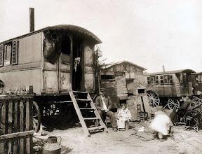 Photo: Le village d´Ivry, extra- muros ( 13 arr), 1910 ..- EUGÈNE ATGET