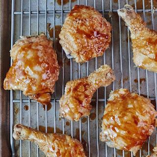 Brown Sugar Glazed Chicken Drumsticks and Thighs Recipe