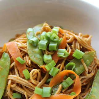 Vegetarian Thai Curry Noodles Recipe