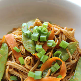 Vegetarian Thai Curry Noodles.