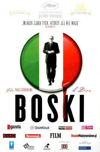 Przód ulotki filmu 'Boski'