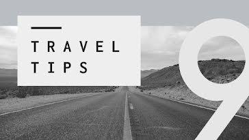 Nine Travel Tips - YouTube Thumbnail Template