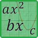Quadratic Equation Solver with Steps and Graphs icon
