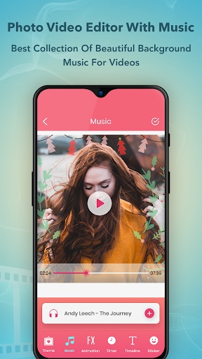 Photo Video Maker with Music : Video Editor screenshot 3