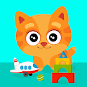 Meow-Toddler puzzle games for 2-5 years old icon