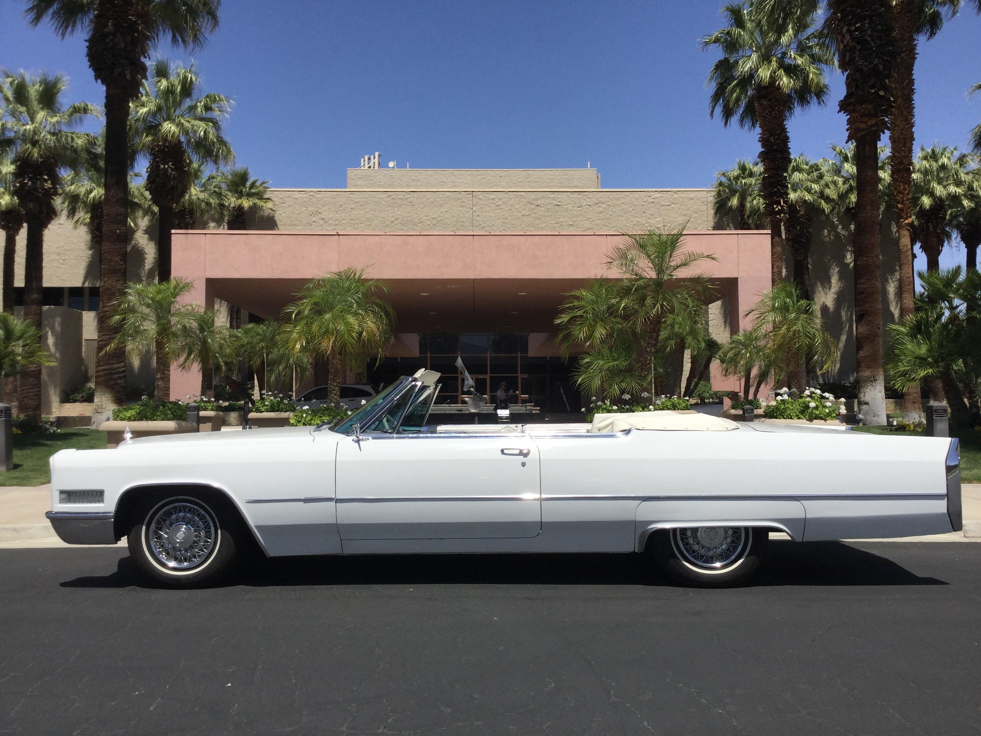 Cadillac De Ville Convertible Hire Palm Desert