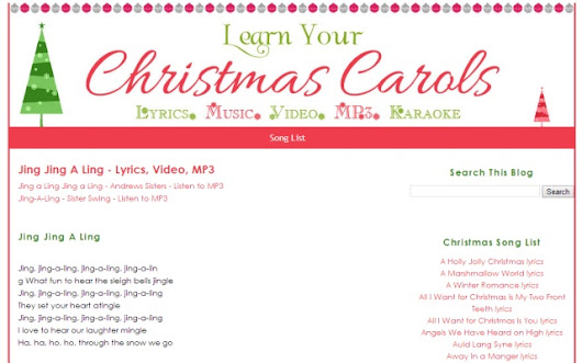 Learn Your Christmas Carols