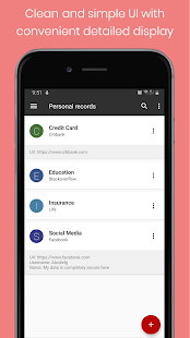 Personal Vault PRO - Password Manager Screenshot