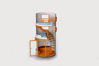 Photo: Veloform Media bboxx Hoteltower: Grafik ohne Wände