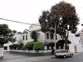 Photo: The South American Explorers Club in the very style of house you would expect it. Lima.