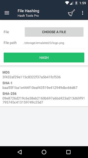 Screenshot 2 Hash Tools - String and File Hashing