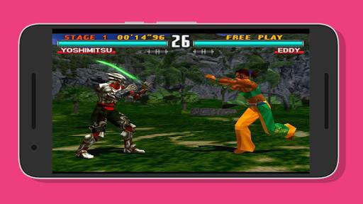 Super PPSSPP Tekken 3 - 7 reference 1.0 screenshots 2