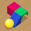 ウッディーボール パズルゲーム (Woody Bricks and Ball Puzzles)