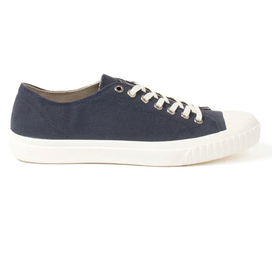 Sneaky Steve Swing Low Canvas Herr Navy Stl: 42