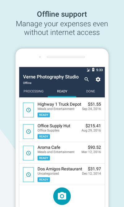 Quickbooks Custom Invoice Pdf Receipts By Wave For Business  Android Apps On Google Play Paid Receipt Template Word with Free Australian Invoice Template Receipts By Wave For Business Screenshot Invoicing In Excel Pdf