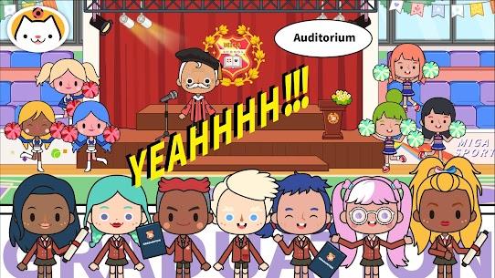 Miga Town: My School MOD (Unlock All Map Characters) 5