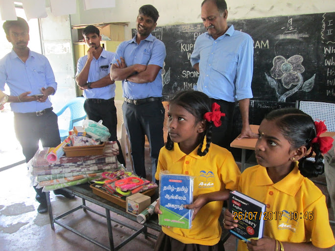 Educational and sports materials distribution