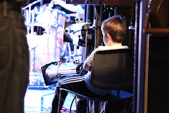 Photo: Liam, assistant stage manager