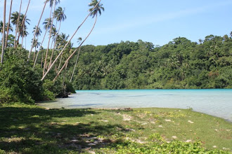 Photo: Beautiful Lagoon between Liapari and Vella Lavella Island