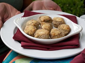 Stuffed Mushrooms ~ Vegetarian Style Recipe