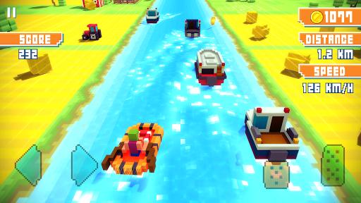 Blocky Highway screenshot 8