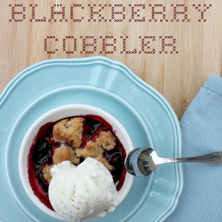 Bisquick Blackberry Cobbler
