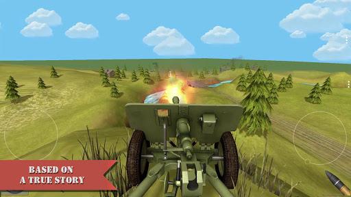 artillery guns arena sniper defend & destroy tanks screenshot 3