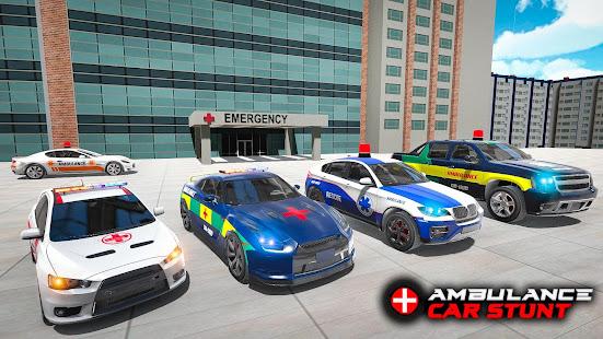 Ambulance car stunts – Mega Ramp Stunts for PC-Windows 7,8,10 and Mac apk screenshot 23