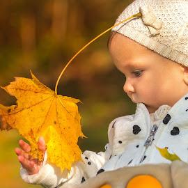 My first autumn by Joško Šimic - Babies & Children Children Candids (  )