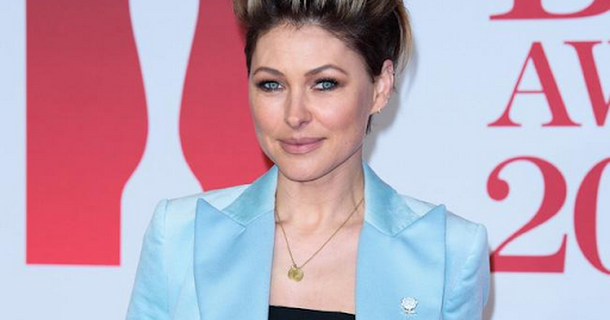 Emma Willis' boobs are saggy