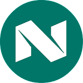 N Launcher - Nougat 7.1 Style