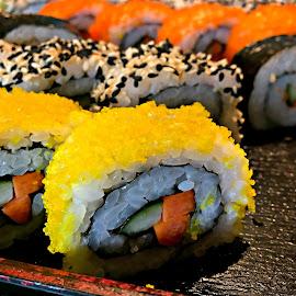 Sushi-san by Jo-Ann Tan - Food & Drink Plated Food