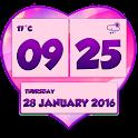 Romantic Weather Clock Widget icon