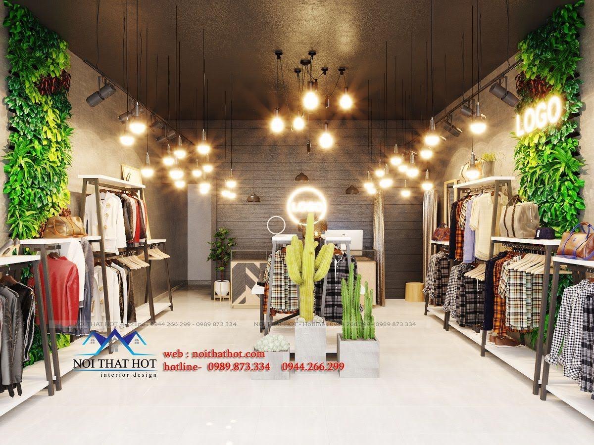 thiết kế shop thời trang nữ 2