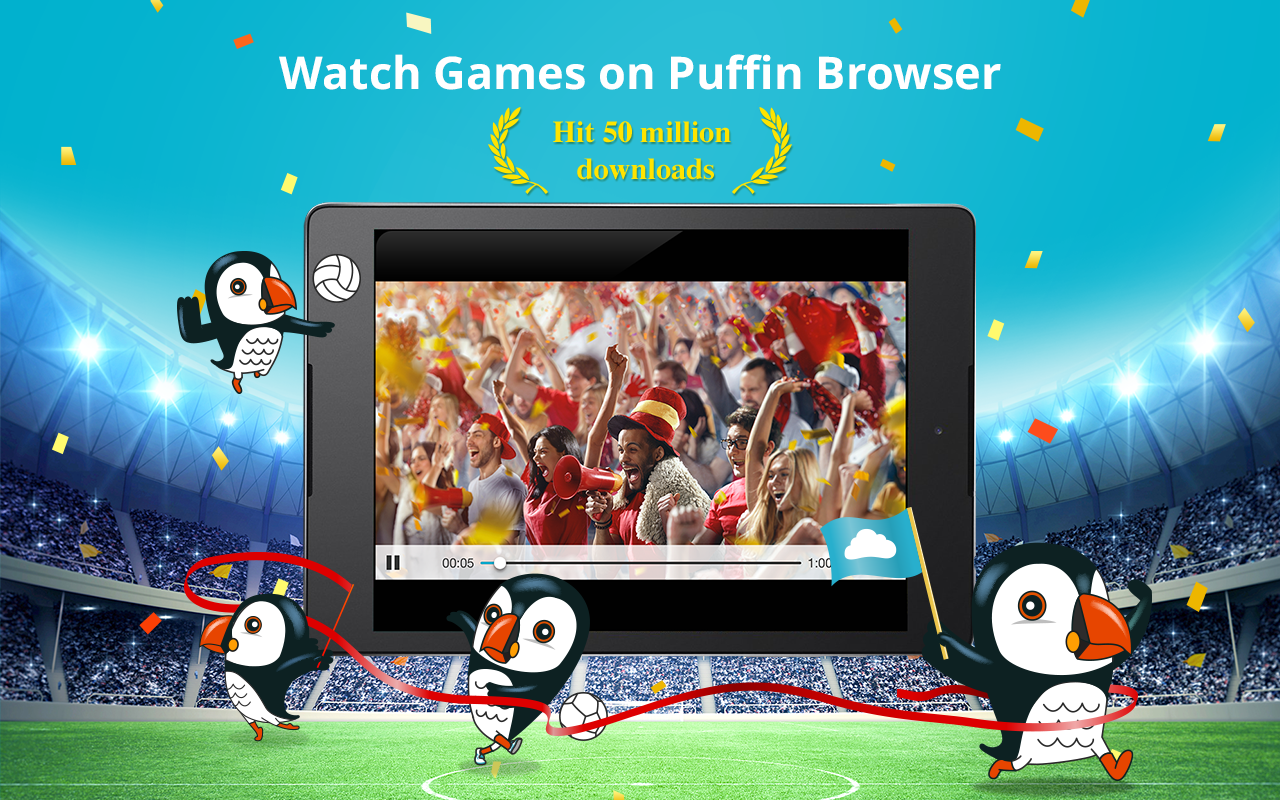 Puffin Web Browser – zrzut ekranu