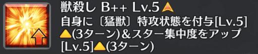 獣殺し[B++]