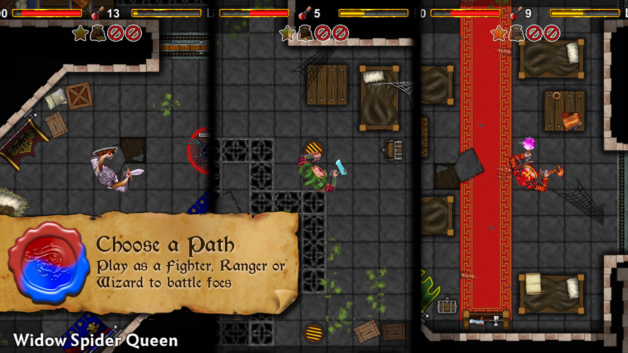 Dungeoneers Academy: Trials- screenshot