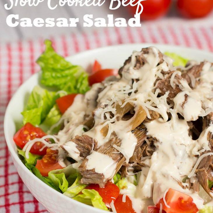 Slow Cooked Beef Caesar Salad Recipe