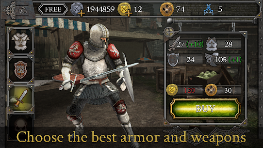 Knights Fight: Medieval Arena 1.0.16 (Mod Money) MOD Apk 4