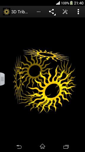 玩漫畫App|3D部落太陽動態壁紙免費|APP試玩