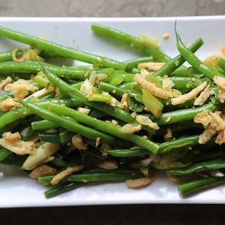 Asian Green Bean Salad.